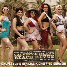 Beach Revue 2016 Poster